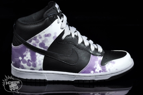 Dunk Hi Blueberry Blotch